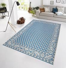 teppiche design in outdoor design teppich terrasse 160 x 230 cm royal blau od 1