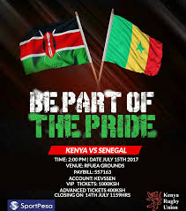 Flag Of Kenya Kenya V Senegal Ticketing Information