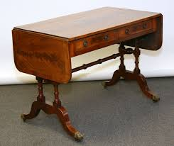 Antique Sofa Table Drop Leaf Sofa Table Large Or Space Effective Do You Need