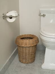 Bathroom Wastebaskets Waste Baskets Rattan U0026 Bamboo In Various Shapes
