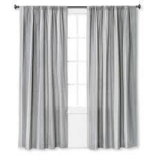 linen stripe curtain panel the industrial shop target