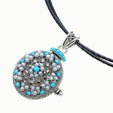 turquoise stone pendant necklace images Jewelry walk shinsaibashi rakuten global market 925 silver jpg