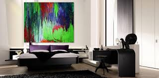 abstract paintings ideas on white wall paint for contemporary
