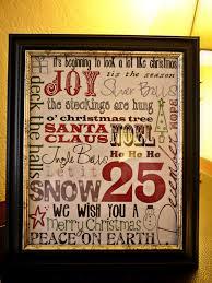 inexpensive christmas craft subway art christmas art the