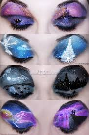 halloween eye makeup 1000 images about eye and eyeshadow art on pinterest cup cakes