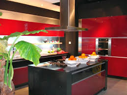 black lacquer kitchen cabinets gloss black and red lacquer kitchen cabinet andrea outloud