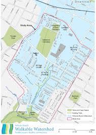 Map Of Charlottesville Va Pollocks Branch Walkable Watershed Walkable Watershed