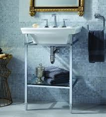 Bathroom Console Chrome Console Sink Foter