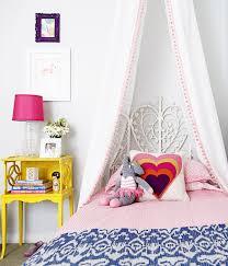 Diy Canopy Bed L U0027s Big Girl Room Reveal