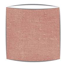 linen lampshades dusky pink plain coloured drum lampshades made
