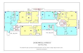 fire escape floor plan 24 buswell street housing boston university