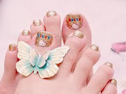 nail art for your beautiful feet u2013 nailkart com