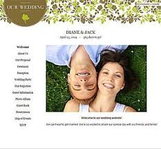 wedding websites best five free wedding planning websites