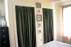Curtains As Closet Doors Curtain Closet Closet Door Ideas Curtain All In One Home Ideas