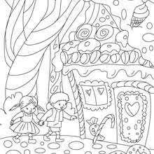 snow white 7 dwarfs coloring pages hellokids