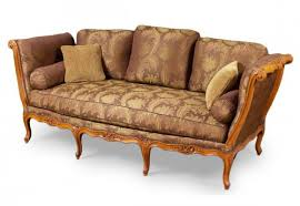 canape louis xv an important gilded and lacquered louis xv sofa attributed to