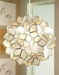 Capiz Shell Light Fixtures 37 Best Capiz Shell Lighting Images On Pinterest Shells