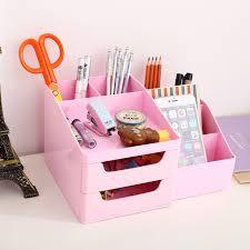 Pink Desk Accessories Set Brilliant Aliexpress Buy Qshoic Desk Pen Holder Desktop Stationery
