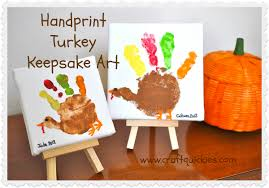 turkey handprint keepsake