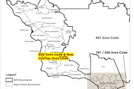 Chicago Area Code Map by Cpuc Approves Area Code Overlay For 805 Region Including Santa