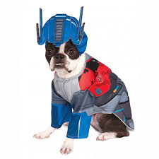 pet costume halloween transformers deluxe optimus prime halloween dog costume with same