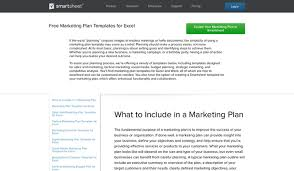 8 marketing plan templates to blow your competitors out of the water
