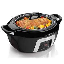 crock pot sales for black friday slow cookers hamiltonbeach com
