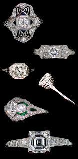vintage estate engagement rings classic engagement and wedding rings junebug weddings