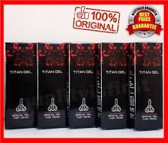 5pcs x 50ml titan gel intimate lubricant men helps increase maximize