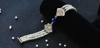 pearl beads bracelet images Diy original tibetan three strands pearl beads bracelet jewelry jpg