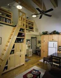loft and folding stairs tiny house inspirations pinterest
