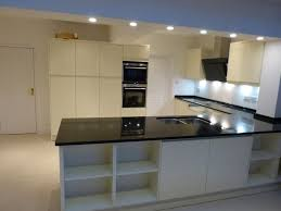 granite countertop black sparkle worktops kitchens microwave