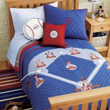 bedroom decor design modern boy sports room theme blue area rug