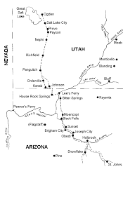 Map Of Tempe Arizona by A Place In The Land