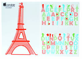 candide removable wall stickers paris