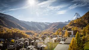 zermatt in autumn colours zermatt switzerland
