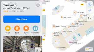 apple maps gains airport maps for o u0027hare and several others ars