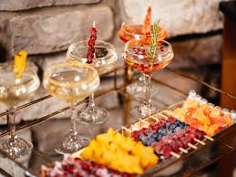 diy martini bar home for the holidays 5 quick and easy champagne garnishes