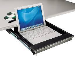 Lockable Desk Tecnec Under Desk Mount Lockable Laptop Drawer For Laptops To 17 In