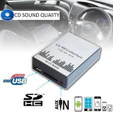 lexus gs usb port car mp3 player sd usb cd aux input audio adapter digital cd