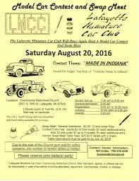 Lafayette Indiana Map Lafayette Miniature Car Club Show