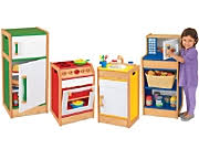 preschool kitchen furniture dramatic play furniture at lakeshore learning