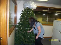 my office christmas tree the amber light u0027s blog