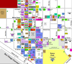 Maps San Diego by Find Your Way Around At The Esriuc With The San Diego Gaslamp Map