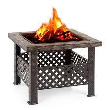 backyard fire pits for sale ikayaa metal garden backyard patio outdoor fire pit lovdock com