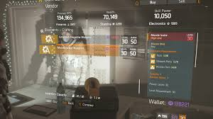 muzzle brake blueprint crafting blueprint item the division