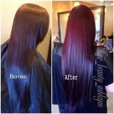 black hair to raspberry hair 50 vivid burgundy hair color ideas for this fall hair motive hair