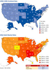 Usa Map By State by Obesity Rates U0026 Trends Overview The State Of Obesity