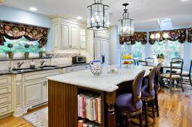 for small kitchen decor with marble islands and black in island