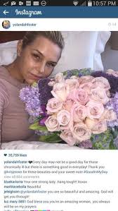 yolanda foster does she have fine or thick hair yolanda foster is back home